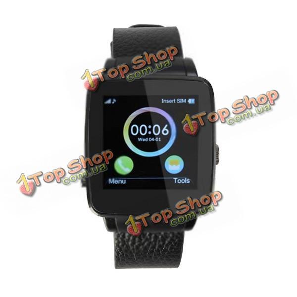 Умные часы X6 1.54-дюймов IPS mtk6560a поддержки 32Gb управления камерой TF карта 320mAh