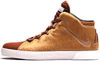 Баскетбольные кроссовки Nike LeBron 12 NSW Lifestyle Brown, найк леброн