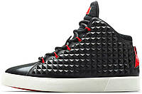 Баскетбольные кроссовки Nike LeBron 12 NSW Lifestyle QS Black Challenge Red, найк леброн