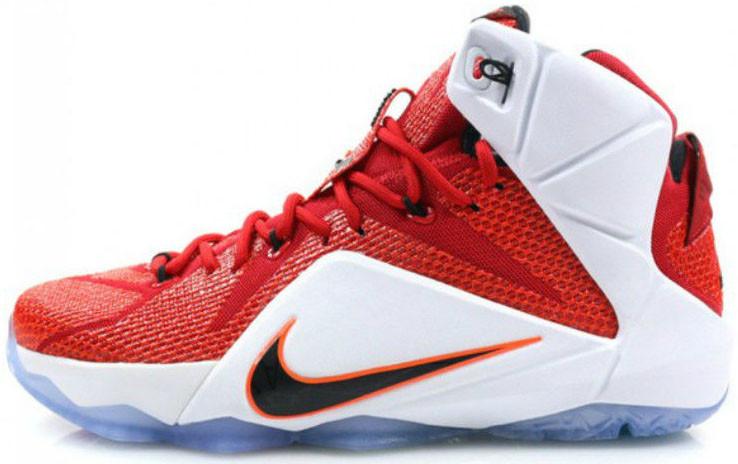 Мужские кроссовки Nike LeBron 12 Heart Of Lion 684593 601, Найк Леброн