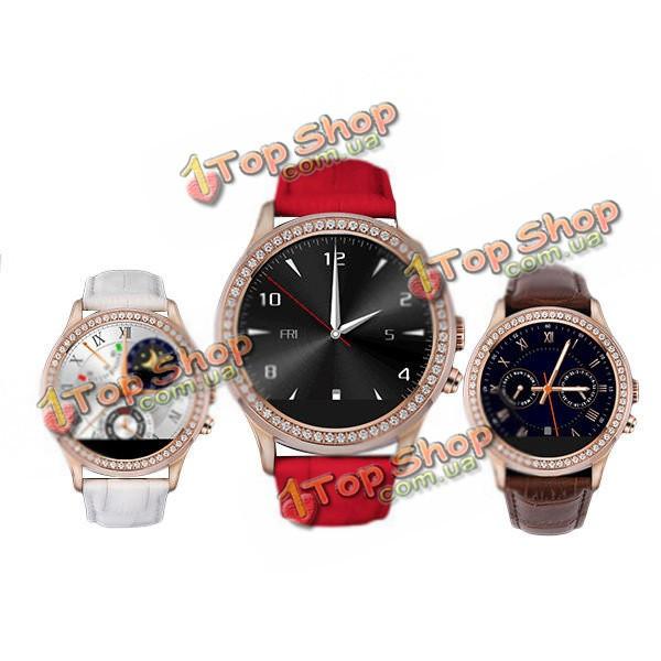Smart часы водонепроницаемые Bluetooth  4.0 D2 1.22-дюймов сердце тест скорости 128 Мб ROM