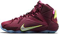 Баскетбольные кроссовки Nike LeBron 12 Double Helix, найк леброн