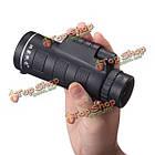 Универсальный 10x40 туризм объектив камеры концерт монокулярная + телефон клип смартфон, фото 4