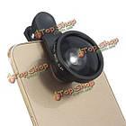 Универсальный 8в1 клип на камеру комплекте объектив рыбий EYE + широкий угол + макро для мобильного телефона, фото 3