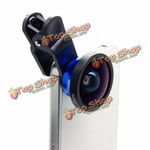 AIKEGlobal C08 0.4X Super широкоугольный объектив камеры стекло фотографии объектив с зажимом