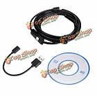Jinglecn 1/2/3.5/5м 7мм 6 LED 0.3 миллиона пикселей высокой четкости Micro-USB камеры эндоскопа шпиона, фото 6