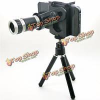 Телескопический объектив камеры со штативом 8x оптический Zoom Len U-8X