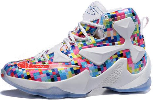 8263ee9e232 Баскетбольные кроссовки Nike LeBron 13 Prism - Интернет-магазин обуви и  одежды в Киеве
