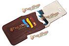 Универсальный кожа Waist мешок телефона телефон чехол бумажник чехол для телефона под 6.3-дюймов, фото 2