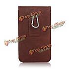 Универсальный кожа Waist мешок телефона телефон чехол бумажник чехол для телефона под 6.3-дюймов, фото 4