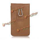 Универсальный кожа Waist мешок телефона телефон чехол бумажник чехол для телефона под 6.3-дюймов, фото 5
