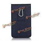Универсальный кожа Waist мешок телефона телефон чехол бумажник чехол для телефона под 6.3-дюймов, фото 7
