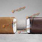 CrazyHorse D-park v-образный вырез универсальный сотовый телефон кожа чехол для 5.5-дюймов или меньше смартфон ставку, фото 4