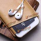 CrazyHorse D-park v-образный вырез универсальный сотовый телефон кожа чехол для 5.5-дюймов или меньше смартфон ставку, фото 9
