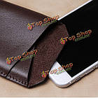 CrazyHorse D-park v-образный вырез универсальный сотовый телефон кожа чехол для 5.5-дюймов или меньше смартфон ставку, фото 10