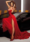 Красное платье-царское и волнующее
