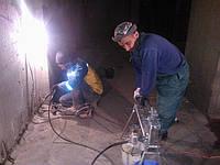 Инъекционная гидроизоляция холодных швов в бетоне