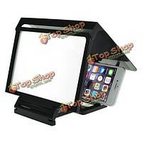 Сверхтонкий складная 3D экран высокой четкости затенение экран увеLitchiтель для мобильного телефона