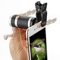 8X18 высокой мощности универсальный зажим Mini монокулярная телефото объектив телескопа для смартфон, фото 1