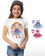 """Футболка и 2 сменных платья """"Doll Suzy""""; 3, 4, 5, 6-7, 8-9, 10-11, 12-13 лет, фото 1"""