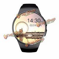 KingWear kw18 mtk2502c 1.3-дюймов Bluetooth 4.0 GSM SMAR часы для iOS Андроид