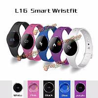 L16 Ультра тонкий сенсорный экран о LED активность сна слежения Bluetooth  4.0 IP67 умные часы, фото 1