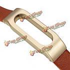 Кожаная замена браслета для Xiaomi mi band ремень запястья Smartband + инструменты, фото 9