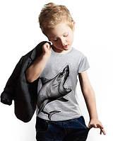 """Футболка для мальчика с карманом """"BiBi Shark Gray""""; 3, 4, 5, 6-7, 8-9, 10-11, 12-13 лет"""