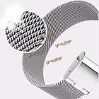 Регулируемые металл серебро замена браслет браслет для Xiaomi mi band 1с, фото 8
