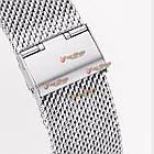 Регулируемые металл серебро замена браслет браслет для Xiaomi mi band 1с, фото 10