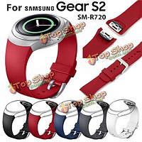 Ремешок часов Samsung Gear S2 SM-R720 силиконовый сменный браслет