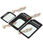 Noosy нано стандарт Micro sim-карта адаптер конвертер для мобильного телефона, фото 4