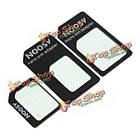 Noosy нано стандарт Micro sim-карта адаптер конвертер для мобильного телефона, фото 6