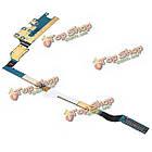 USB порт зарядки гибкий кабель с микрофоном + инструменты для ремонта Samsung Galaxy S4 i9505 rev19, фото 7