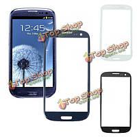 Прочный экран стеклянный объектив замена для Samsung Galaxy S3/i9300 (розовый)