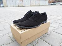 Мужские замшевые туфли Van Kristi