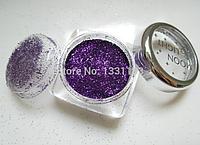 """19 цветов, блески для боди-арт для лица макияж на вечеринку  make up 1шт на выбор """"Moon Light"""" dark purple №10"""