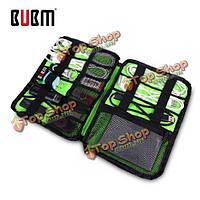 BUBM дис-м аксессуары организатор жесткий ROM наушники кабель USB флэш-накопитель сумка для хранения цифровой