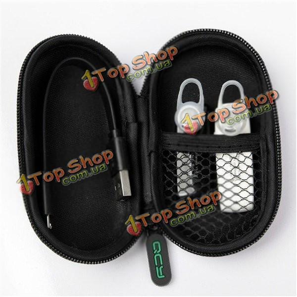 QCY портативный ударопрочный ящик для хранения наушников гарнитуры защитная сумка