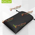QCY Портативный PU кожа мягкая сумка кейс для хранения наушников аксессуары, фото 3