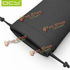 QCY Портативный PU кожа мягкая сумка кейс для хранения наушников аксессуары, фото 6