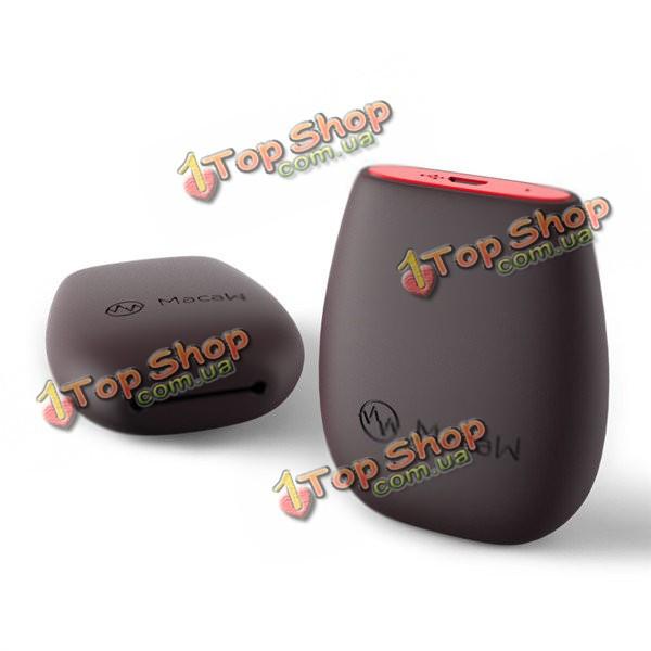 Ара мягкая TPU 500mAh USB зарядка накопителя энергии сумка для наушников Bluetooth система кабель