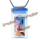 11X 20см прозрачный подводный сумка водонепроницаемый мешок для Samsung Xiaomi, фото 3