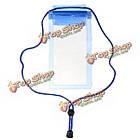 11X 20см прозрачный подводный сумка водонепроницаемый мешок для Samsung Xiaomi, фото 4