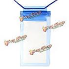 11X 20см прозрачный подводный сумка водонепроницаемый мешок для Samsung Xiaomi, фото 5
