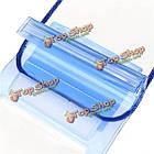 11X 20см прозрачный подводный сумка водонепроницаемый мешок для Samsung Xiaomi, фото 6