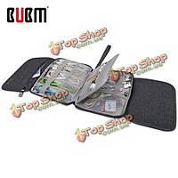 BUBM Ser-м четыре сложенный вспомогательного оборудования электроники данных организатор сумку для хранения кабеля