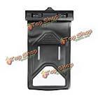 Водонепроницаемый запечатанном чехол сухой мешок с термометр ремень руки ремешком для мобильного телефона, фото 8