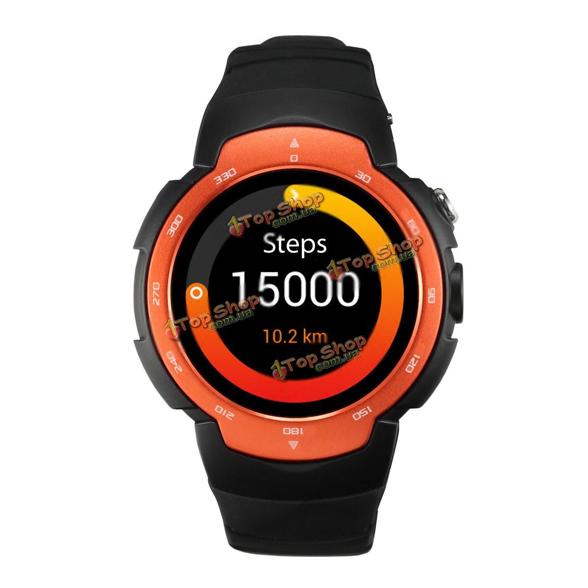 Умные часы Zeblaze 1.33-дюймов 360х360 пикс mtk6580 Андроид 5.1 480mAh