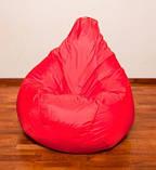 Червоне крісло-мішок груша 120*90 см з тканини Оксфорд, фото 3